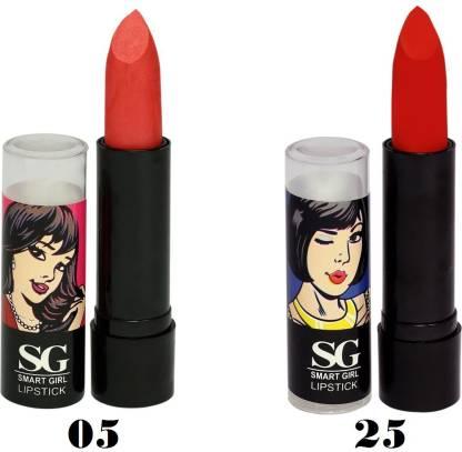 Amura Smart Girl LipStick Set of 2 (05,25)