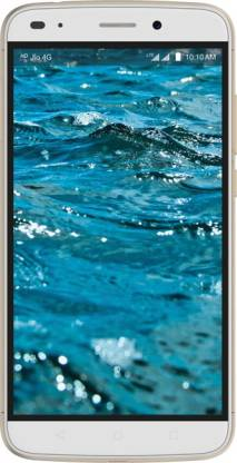 LYF Water 9 (White & Gold, 16 GB)