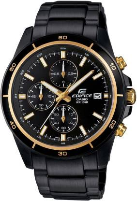 Casio EX208 Edifice ( EFR-526BK-1A9VUDF ) Analog Watch - For Men