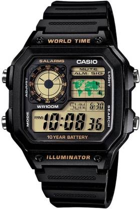 Casio D098 Youth Digital ( AE-1200WH-1BVDF ) Digital Watch - For Men