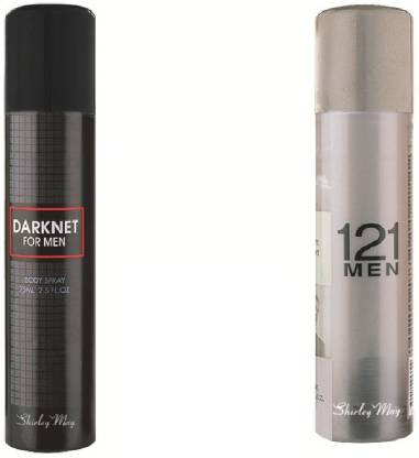 SHIRLEY MAY 121 Men with Darknet (Imported from U.A.E) Perfume Body Spray  -  For Men