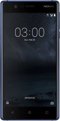 Nokia 3 (Tempered Blue, 16 GB)