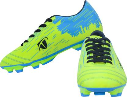 Gowin By Triumph Crush Green/Cyan Football Shoes For Men
