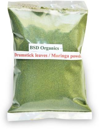 BSD Organics drumstick leaves powder (Moringa / Munagaku leaves)