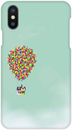 Crackndeal Back Cover for Apple iPhone X