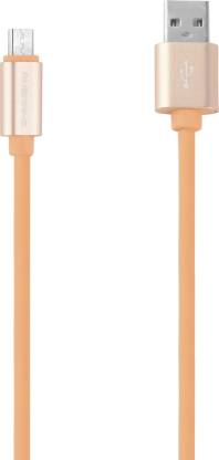 Ambrane AAC-44 Rubber Finish Charge 1 m Micro USB Cable