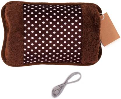 Zivaha HOT WATER BAG WITH VELVET FUR Electrical 1 L Hot Water Bag