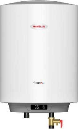 HAVELLS 10 L Storage Water Geyser (Senzo, White)