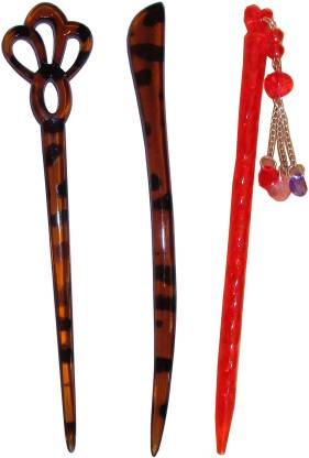 SHARADHA combo of juda sticks Bun Stick