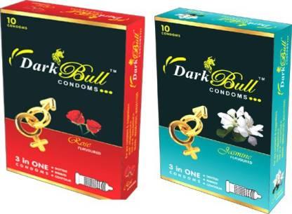 DarkBull Rose & Jasmin Condom