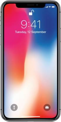 Apple iPhone X  Space Gray, 64   GB  Apple Mobiles