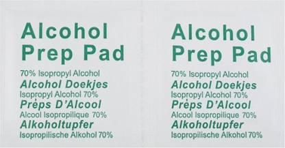 Futaba Skin Cleaning Alcohol Pads - Antiseptic Liquid