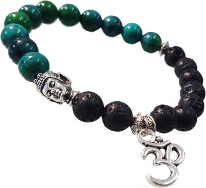 Stone, Alloy Beads Charm Bracelet