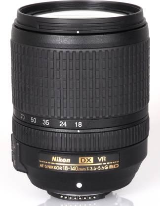 NIKON AF-S DX NIKKOR 18-140mm f/3.5-5.6 G ED VR  Lens