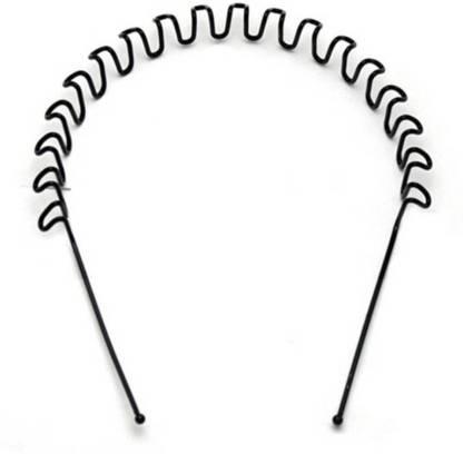 Shop & Shoppee Best Quality Zig Zag shaped Unisex metal Hair Band