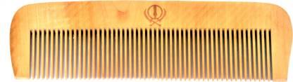 CASTO Neem Wood Hair Comb For Mens