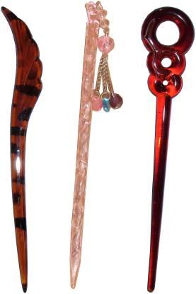 Kabello Trendy combo of juda sticks Bun Stick