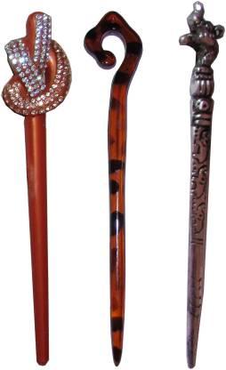 Vogue Wedding combo of juda sticks Bun Stick