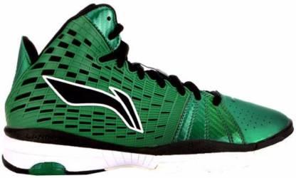 ABPH063-4 Black/Celt Green Basketball Shoes For Men(Multicolor)