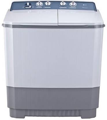 LG 8.5 kg Semi Automatic Top Load Grey