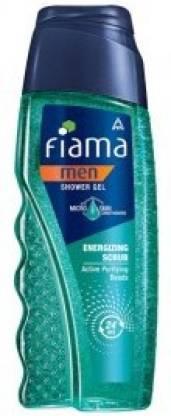 Fiama Men Energizing Scrub Shower Gel