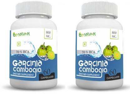 Be Natural Garcinia cambogia extract 70% HCA 800 mg 120 capsules-pure and natural fat burner,maximum results 120 capsules
