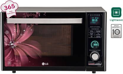 LG 32 L Charcoal Convection Microwave Oven