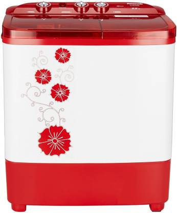 Panasonic 6.5 kg Semi Automatic Top Load Red