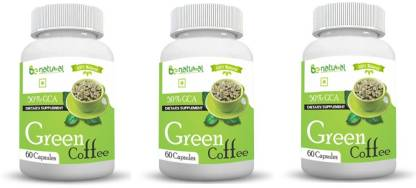 Be Natural Green coffee bean extract 50% GCA 800 mg 180 capsules-pure and natural fat burner,maximum results,zero side effect. 180 Capsules