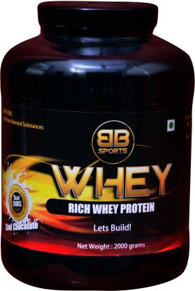 BB Sports Nutrition BB1024 Whey Protein