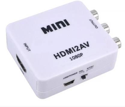 Terabyte  TV-out Cable Terabyte MINI HDMI2AV UP Scaler 1080P HD Video Converter