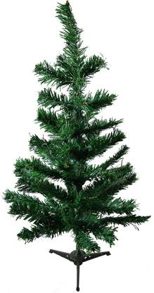 FOURWALLS Cedar 50 cm (1.64 ft) Artificial Christmas Tree