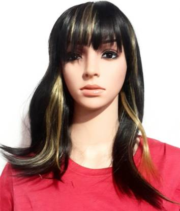 YOFAMA Highlighted Wig Hair Extension