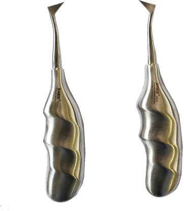 SS White Dental Root elevator Cryer Left S34.06 Cryer Right S34.07 (Anatomical Handle) Dental Elevator