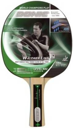 DONIC Waldner 400 Green Table Tennis Racquet