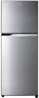 Panasonic 296 L Frost Free Double Door 2 Star Refrigerator(Stainless Steel, NR-BL307PSX1/PSX2)