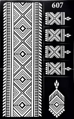 ARR Henna Stencils HS 607