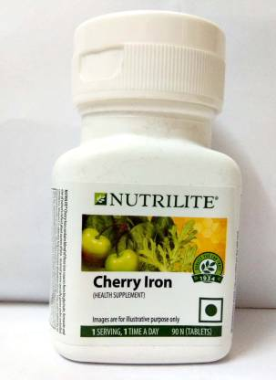 Amway Nutrilite Cherry Iron - 90 Tablets