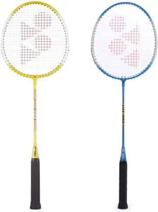 Yonex GR303 Multicolor Strung Badminton Racquet Pack of: 2, 90 g  Yonex Badminton Racquet