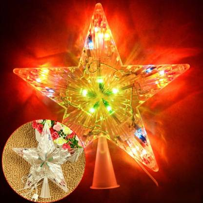 Lilone LED-TOP-STAR Topper Ornaments Pack of 1