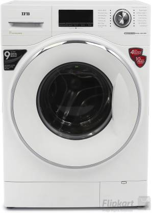 IFB 8.5 kg Fully Automatic Front Load with In-built Heater White