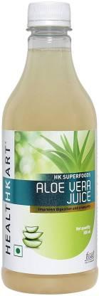 HEALTHKART Aloe Vera Juice - 500 ml Nutrition Drink