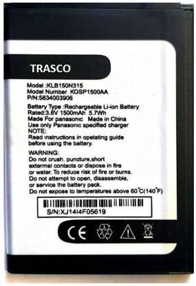 Trasco Mobile Battery For  Panasonic T40