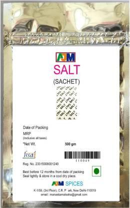 AJM SPICES SALT SACHET Iodized Salt