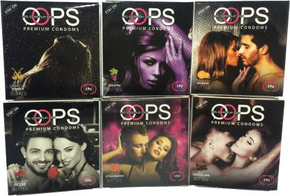 OOPS EXTRA RASIED DOTTS FOR EVERY MOOD Condom