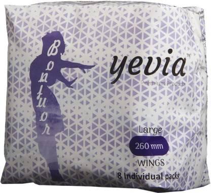 Yevia Sanitary Napkin All Day/Night Large 260mm Sanitary Pad