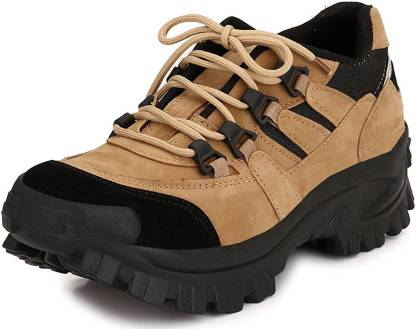Deals4you Men's Boots Tan Hiking & Trekking Shoes For Men