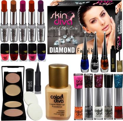 Color Diva Festive Speciality Big Pack Combo Makeup