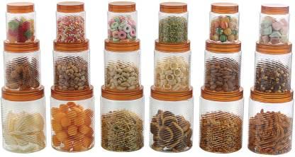 POLYSET Raga  - 605 ml, 1210 ml, 290 ml Plastic Grocery Container