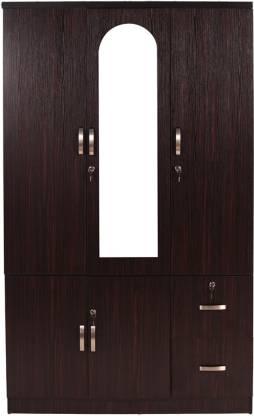 Woodness Tuscany Engineered Wood 3 Door Wardrobe